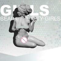 1/24 Resin Sexy Female Beauty City Girls Unpainted Unbuild H3I1