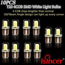 10x T10 194 168 W5W COB 8 SMD CANBUS Silica Bright LED White License Light Bulb