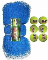 30Feet X 10Feet Nylon Cricket Practice Net with 6 Cricket Tennis Ball UK