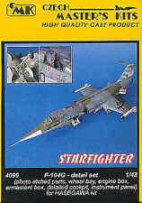 CMK 1/48 F-104G Starfighter Detail Set for Hasegawa kit # 4099