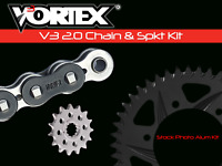 Yamaha YZF-R6 06-16 Vortex 520 Chain and Sprocket Kit 15-47 Tooth CK6311