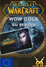 1000000 World of Warcraft WOW Gold 1000K 1.000.000 1KK EU Server schnell sicher