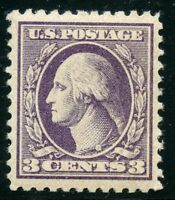 UNITED STATES 3c  WASHINGTON SCOTT #464  MINT NH XF