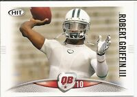 2012 SAGE Hit #10 Robert Griffin III Baylor Bears Rookie Football Card RC