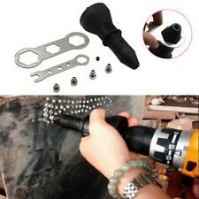 Electric Rivet Nut Gun Cordless Riveting Insert Nut Tool Adaptor Drill Tools ACC