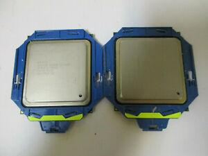 Lot of 2 !!! Intel Xeon E5-2609 2.4GHz Quad Core Processor CPU SR0LA LGA2011