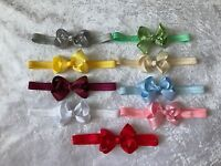 Baby Girls Bow Headband lace Soft Elastic Band Variety Hair Accessories +Lot