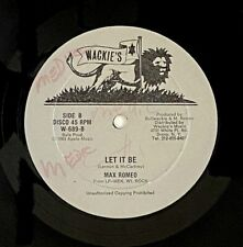 "Max Romeo ""Let It Be/Call Me When The Heartache Starts"" Reggae 12"" Wackie's mp3"