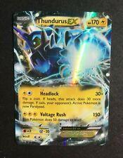 Pokemon Thundurus EX 26/108 XY Roaring Skies (Near Mint/Mint)