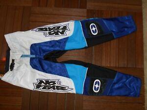 Motocross Jersey And Pants YAMAHA Racing Xtreme Sport Off Road Bleu And Black