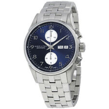 Hamilton Jazzmaster Maestro Chronograph Automatic Blue Dial Mens Watch H32576141
