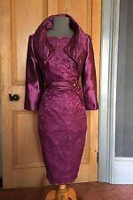 Magnifique BNWT Libra mère de la mariée/Soirée robe et boléro, taille 16