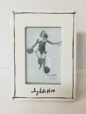 Kate Spade New York by Lenox why hello there Daisy Place 4x6 Photo Frame NIB