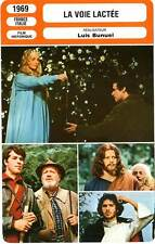 FICHE CINEMA : LA VOIE LACTEE - Frankeur,Terzieff,Bunuel 1969 The Milky Way