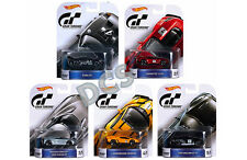 Hot Wheels Retro GRAN TURISMO NISSAN GTR FORD GT VENENO 1/64 SET OF 5 DMC55-959C