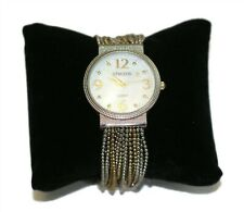 CHICO'S Women's Two-Tone Bead Multi-Strand Band Watch