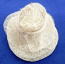 "CRAFT 4"" SINAMAY HATS - 6 IN PACKAGE"