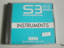 Korg - KSC-4S Rare Instruments card for S3 Rhythm Workstation in Jewell Case