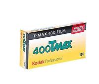 (100 Rolls) Kodak TMAX 400 120 Film TMY T-Max Black & White B&W FRESH
