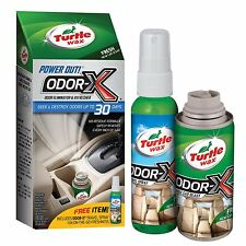 Turtle Wax 50653 Power Out Odor-X REFRESHER KIT Whole New Car Scent Blast Clean