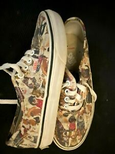 VANS Era Low Top ASPCA 50th Anniversary Animals Children's KIDS Shoes Size 2
