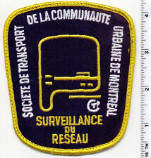 Urbaine de Montreal (Canada) Uniform Take-Off Shoulder Patch from the 1980's