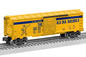 """MINT Lionel 210380 """"METCA"""" Alaska 6464-825 Reverse Color Box Car"""