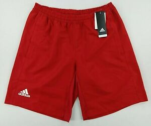 Adidas Mens T16 CC Climacool Shorts Red With Pockets Size Medium