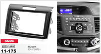 CARAV 11-175 2Din Marco Adaptador Kit Instalacion de Radio para HONDA CR-V 2012+