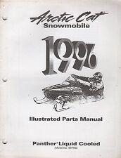 1996 Arctic Cat Snowmobile Panther Liquid Cooled Part Manual P/N 2255-346 (725)