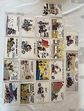 Lot 20 Cartes Postales Humoristique JOE BAR TEAM 1996 , Motard Biker Moto