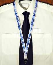 Lanyard BOEING Company GREY with Airplanes on it! neckstrap pilot crew Lanyard