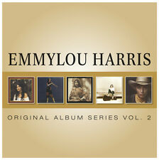 EMMYLOU HARRIS 5CD Vol 2 NEW Roses Snow/Evangeline/Cimarron/White Shoes/Thirteen