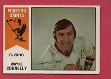 RARE 1974-75 OPC WHA # 54 FIGHTING SAINTS WAYNE CONNELLY CARD