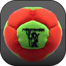 VIRUS SYNTHETIC HEMP FOOTBAG SAND FILLED 12 PANELS Hacky sack