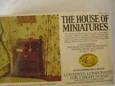Doll Furniture House Of Miniatures Chippendale Night Stand