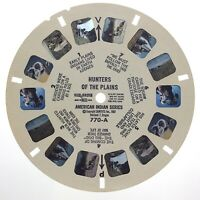 Hunters Of The Plains American Indian Series View Master Sawyers 1967 Reels S427