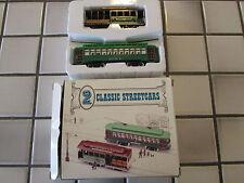 classic streetcars set /