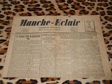 Journal MANCHE-ECLAIR, éd. du Sud de la Manche - n° 35, 31/08/1946