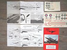 "C-47 PINOCCHIO ""2 RCAF/GERMAN"" LEADING EDGE DECALS 1/48"