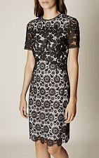 Karen Millen 2016 Lace Pencil Dress Size 8 RRR £215