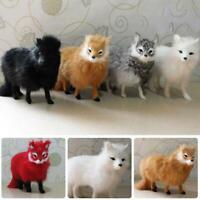 1 Realistic Simulation Animals Model Plush Toy Stuffed Fluffy Doll Kids Gift