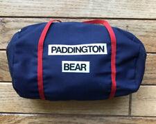 Paddington Bear Authentic Vintage Gabrielle Designs Soccer Rugby Duffel Bag Euc