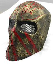 COOL Fiberglass Resin Mesh Eye Airsoft Paintball Full Face Protection Mask M791
