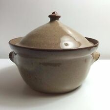 Vintage Jugtown Ware 1979 Beanpot Bean Pot Casserole with Lid High Glaze