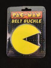 NUOVO Pacman Logo Metallo Cintura Fibbia Giochi Retrò RARO
