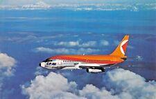 CP AIR BOEING 737  Airplane Postcard