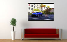 "Blue Ford Mustang 2015 New Giant Large Art Print Poster Picture Wall 33.1""x23.4"""