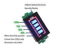 Tester batterie indicatore di tensione e capacità batteria Li-po da 3,7V a 4,2V