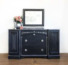 Blue Dressing Table Sideboard FREE DELIVERY